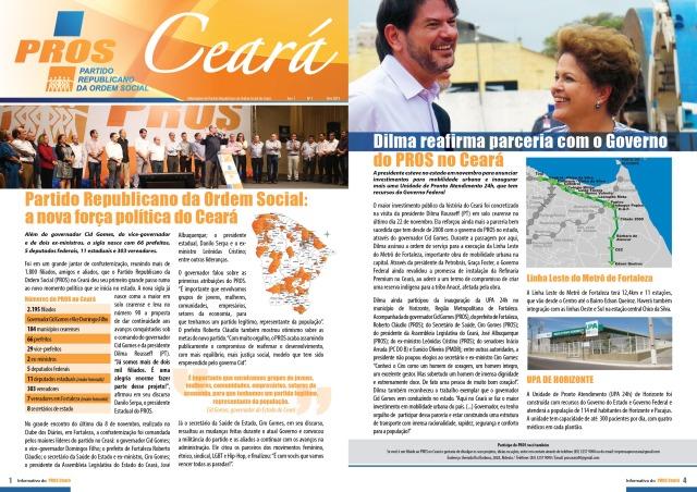 Informativo PROS página 1