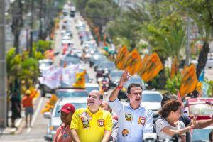 Grande carreata percorreu 16 quilômetros  em Fortaleza