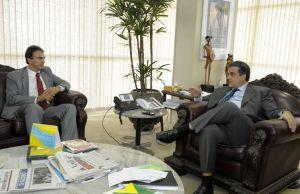 Governador eleito debateu políticas de cooperação na área de segurança pública entre o Governo Federal e o estado do Ceará - Foto: ASCOM
