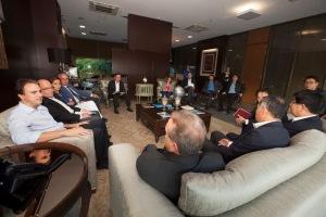 Reunião foi realizada no Palácio da Abolição - Foto: Carlos Gibaja