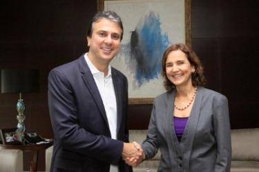 Izolda ficará como governadora em exercício até o próximo dia 20 - Foto: Carlos Gibaja